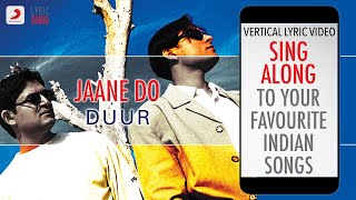 Jaane Do - Duur|Official Lyrics|Strings - YouTube