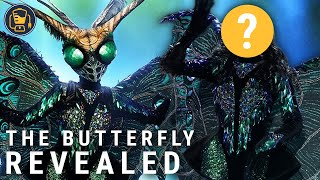 The Masked Singer Season 2: Butterfly Reveal