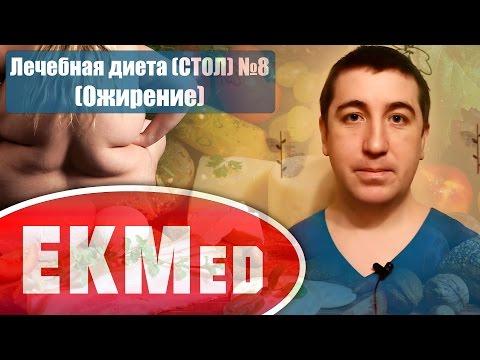 EKMed — Лечебная диета СТОЛ №8 (При ожирении)