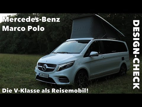 2019 Mercedes-Benz Marco Polo V-Klasse Reisemobil Walkaround Design Fakten Abmessungen