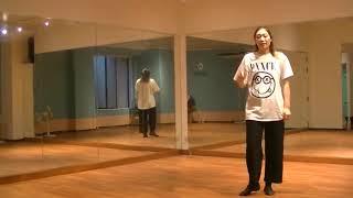 香音先生のダンス講座~クロスステップ① ~のサムネイル