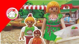 Playmobil Film Deutsch Auf Dem Wochenmarkt / Kinderfilm / Kinderserie Von Family Stories