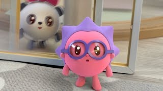 Малышарики - Окошко - серия 104 - обучающие мультфильмы для малышей 0-4 - про паровозики