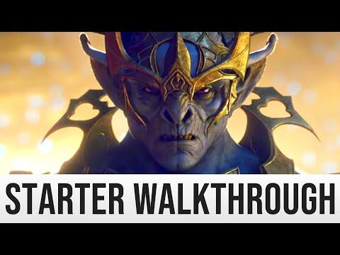 ESO Greymoor Starter Guide Gameplay (The Elder Scrolls Online SKYRIM Walkthrough Part 1)