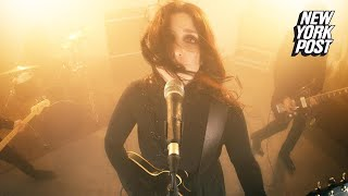 How Goth Rock Goddess Chelsea Wolfe Turns Anxiety And Night Terrors Into Music | New York Post