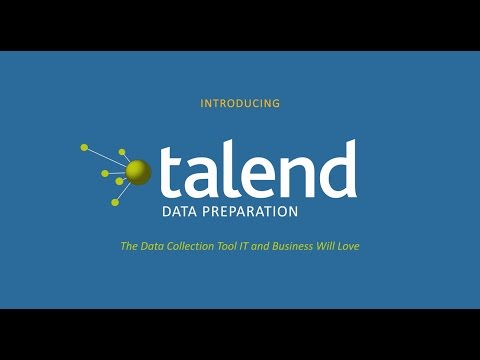 Talend Data Preparation Free Desktop Youtube preview