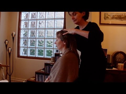 Indian Head Massage Sequence - YouTube