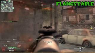 CODMW2 AK47 Silenced  Team Deathmatch On Rundown Gameplay/Commentary