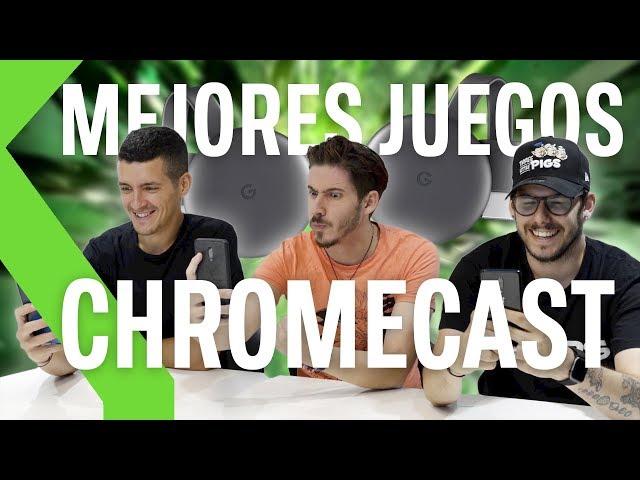 Los 7 MEJORES JUEGOS para Google CHROMECAST 2019
