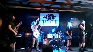 Video Temper Křest EP Break The Rule 5.5.2018 Modrá Vopice