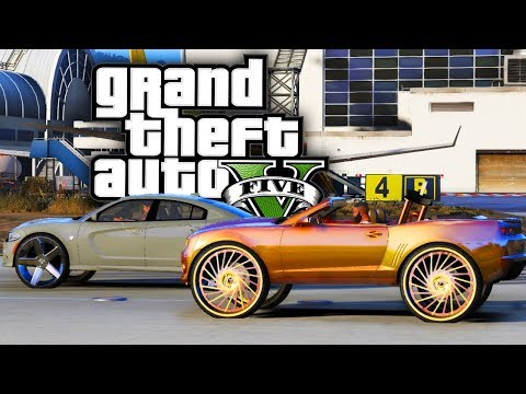 Donk Drag Racing! - GTA 5 Real Hood Life - Day 99