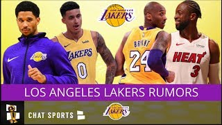 Lakers Rumors On Dwayne Wade Joining The Lakers, Josh Hart And Kobe Bryant's Comments On Kyle Kuzma