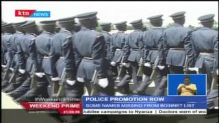 Confusion within the National Police Service over promotions