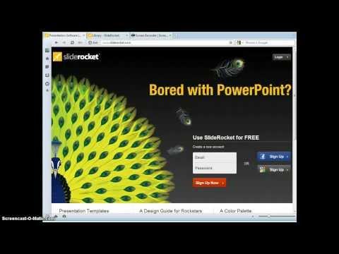 Видеообзор SlideRocket