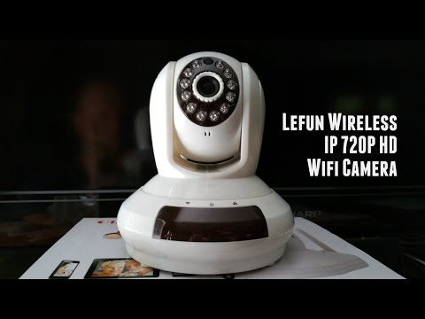 Lefun Wireless IP 720P HD Wifi Camera Review
