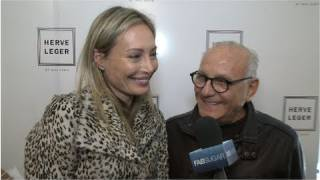 Hervé Léger Designers Lubov And Max Azria On Updating The