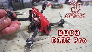 SKYZONE ATOMRC DODO D135 PRO FPV Racer Review ????