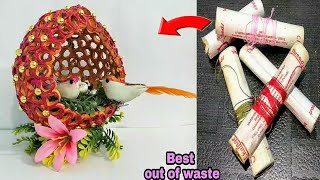 diy-best-out-of-waste-thread-spoolsbest-reuse-ideacool-craft-idea-3