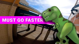 Clipasaurus ???? dives & building layups | FPV ドローン freestyle
