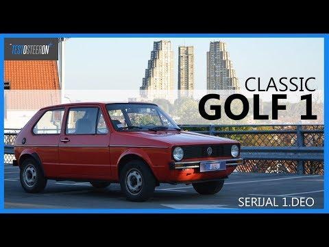 TEST SERIJAL VW GOLF 1-7 /// 1.DEO TEST VOŽNJA GOLF 1