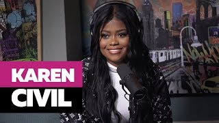 Ebro In The Morning - Karen Civil On Hillary Clinton, Kanye West, & Drops GEMS On Entrepreneurship & Business