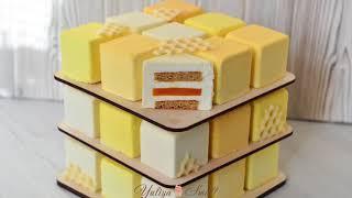 ТОРТ КУБИК ☆ Современный медовик ☆ Cube Mousse Cake