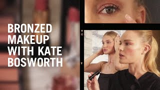 Kate Bosworth And Rosie Huntington-Whiteley Recreate Hung Vanngos Bronzy Makeup