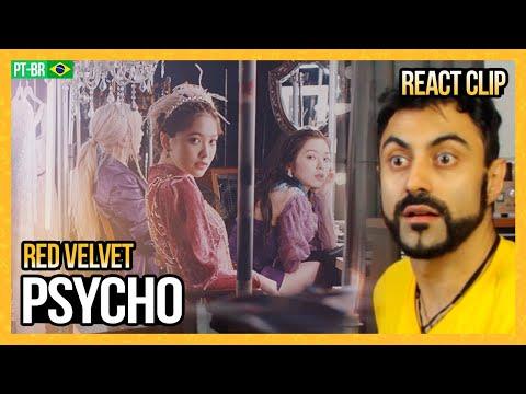 REAGINDO a PSYCHO - Red Velvet