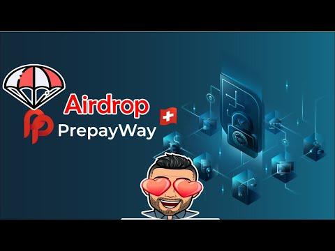 Ganhe $18 dólares fácil e rápido no Airdrop PrepayWay ! NÃO PRECISA INDICAR.
