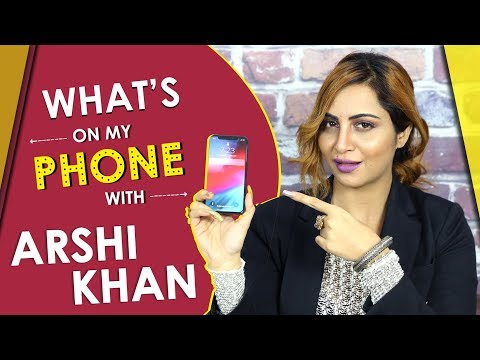 What's On My Phone With Arshi Khan | Calls Shilp