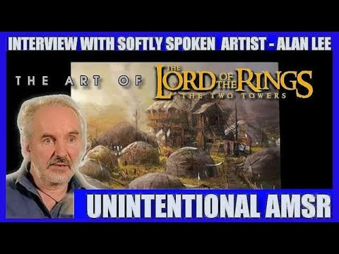 Alan Lee LOTR The Concept Art for THE TWO TOWERS Unintentional ASMR