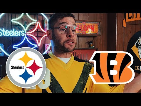 Dad Reacts to Steelers vs Bengals (Week 7)