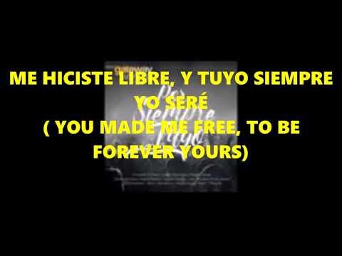 Tuyo siempre seré - Coalo Zamorano ( Forever Yours - Gateway Worship) Pista karaoke