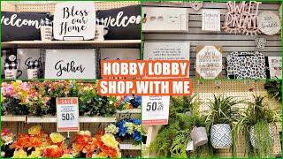 HOBBY LOBBY HOME DECOR 2021 SHOP WITH ME