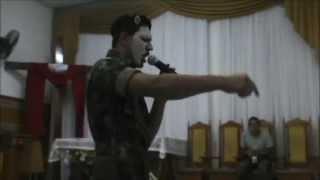 preview picture of video '20/04/2013 - TEATRO Resgatando Soldados Feridos - Rede de Jovens de Itaqui - IEQ Sede'
