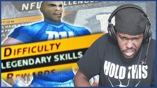 LEGENDARY SKILL CHALLENGE RAGE!!   NFL Street Walkthrough Part 20