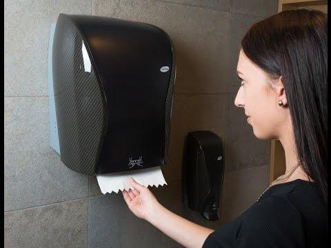 Papierhandtuch Spender XIBU touchTOWEL, DE