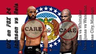 UFC on Fox 24: Johnson vs Reis Care/Don