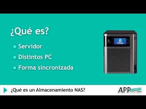 ¿Qué es un Almacenamiento NAS? l APPinformatica.com