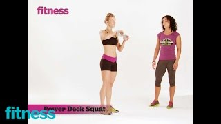 Crossfit Workout - Power Deck Squat
