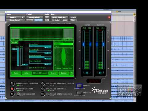 MixCoach Playbook – How I use iZotope Ozone part 1