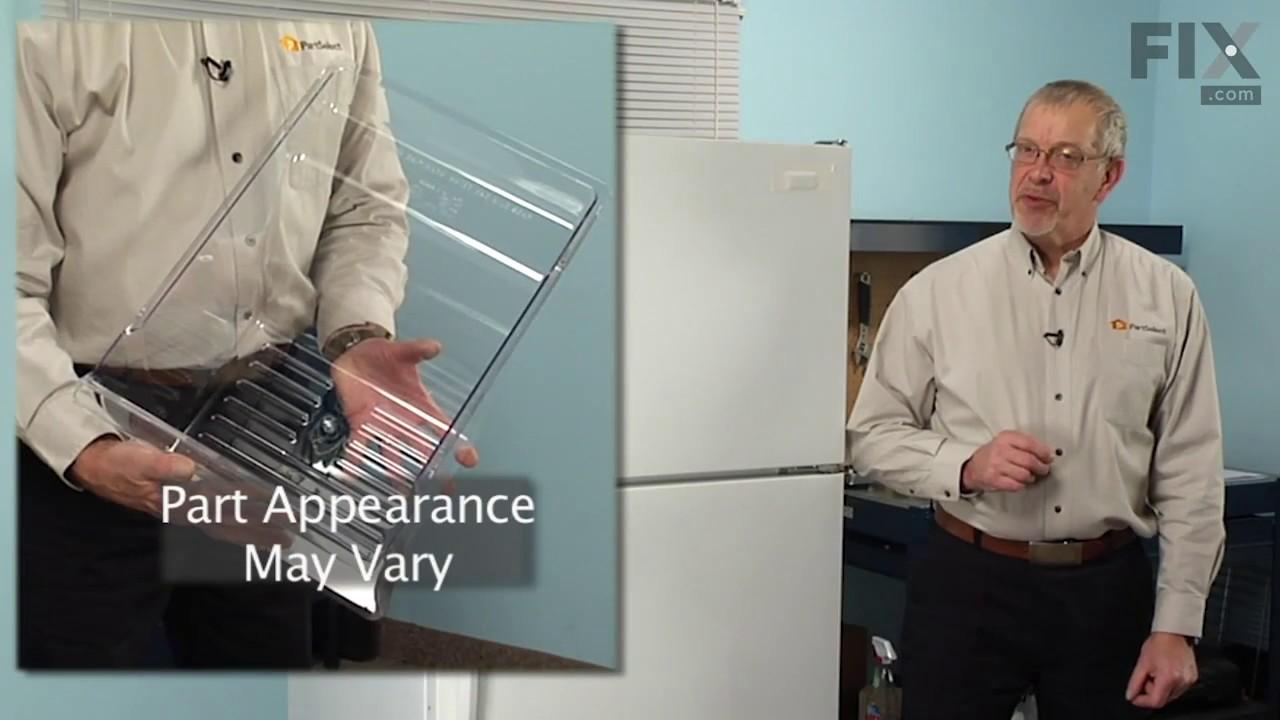 Replacing your Whirlpool Refrigerator Refrigerator Crisper Drawer