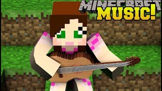 Minecraft: MUSICAL POWERS!! (MUSIC THAT GIVES YOU POWERS!!) Custom Command