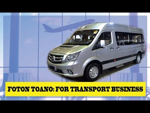 FOTON Toano Best Business Vehicle investment Philippines