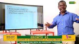BIOLOGY_ FIV_ GROWTH_ Growth & Development in Human Being_ Sir Jamal