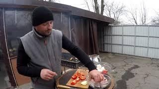 СВИНЫЕ РЕБРА в АФГАНСКОМ КАЗАНЕ. ENG SUB