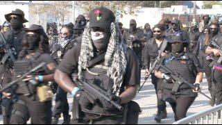 Felfegyverkezve masíroztak a színes bőrű milicisták, akik fekete nemzetet akarnak csinálni Amerikábó