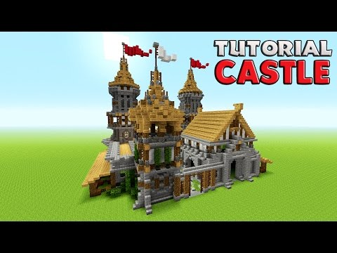 Minecraft: How To Build A Castle Tutorial | Barracks tutorial