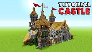 Let S Build A Castle 8 Epic Castle Walls Minecraft 1 13 2