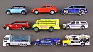 Best Kids Learning Cars Trucks Autos Street Vehicles for Children Toy Hot Wheels Matchbox Tomica